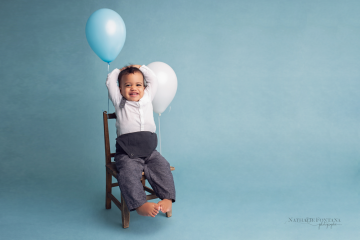 Séance photos Bébé Je Grandis - Thylan, 12 mois