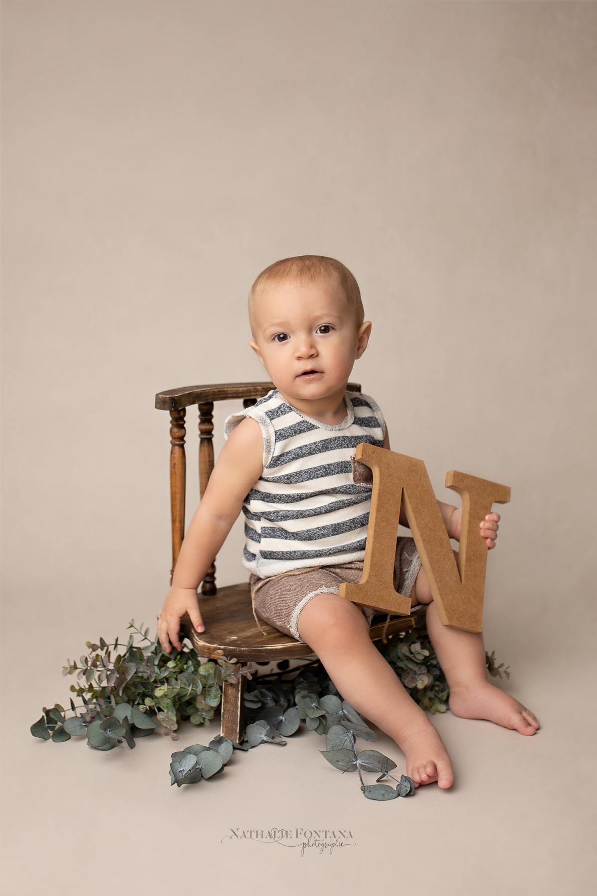 portrait bebe Meryl - Nathalie Fontana Photographie