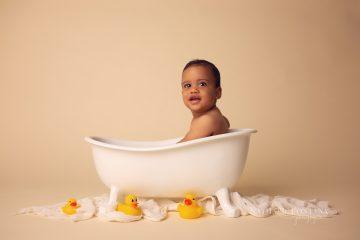 Séance bébé Je Grandis - Thylan, 8 mois - Nathalie Fontana